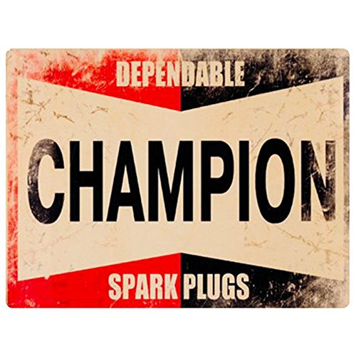 Champion Spark Plugs Sign (Vintage Replica) 9