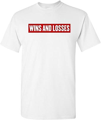 Meek Mill Wins /& Losses Womans Baseball T Shirt Short Sleeve Round Neck Tshirts