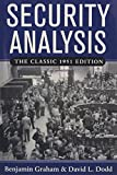 img - for Security Analysis: The Classic 1951 Edition book / textbook / text book