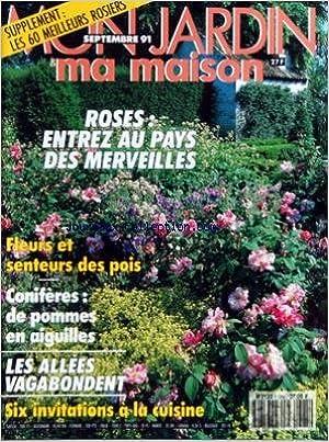 Ebook texte document téléchargement gratuit MON JARDIN MA MAISON [No 385] du 01/09/1991 - LES ROSES - FLEURS ET SENTEURS DES POIS - CONIFERES - DE POMMES EN AIGUILLES - LES ALLEES VAGABONDENT - 6 INVITATIONS A LA CUISINE PDF ePub iBook B007DO2W8E