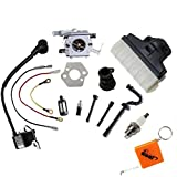 HURI Carburetor Ignition Coil Tune Up Kit for Stihl Chainsaw 021 023 025 MS210 MS230 MS250