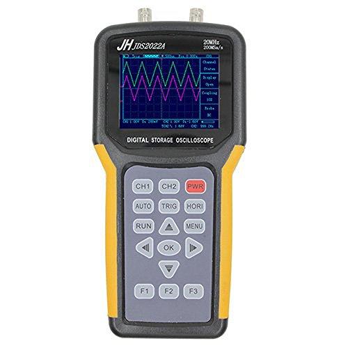- Handheld Digital Storage Oscilloscope 20Mhz Double Channel 200Msa/s Sample Rate JHJDS2022A Handheld Oscilloscope