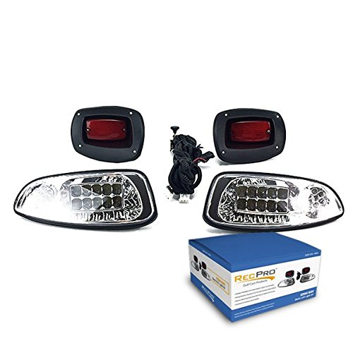 RecPro EZGO RXV GOLF CART ALL LED LIGHT KIT 2008-2015