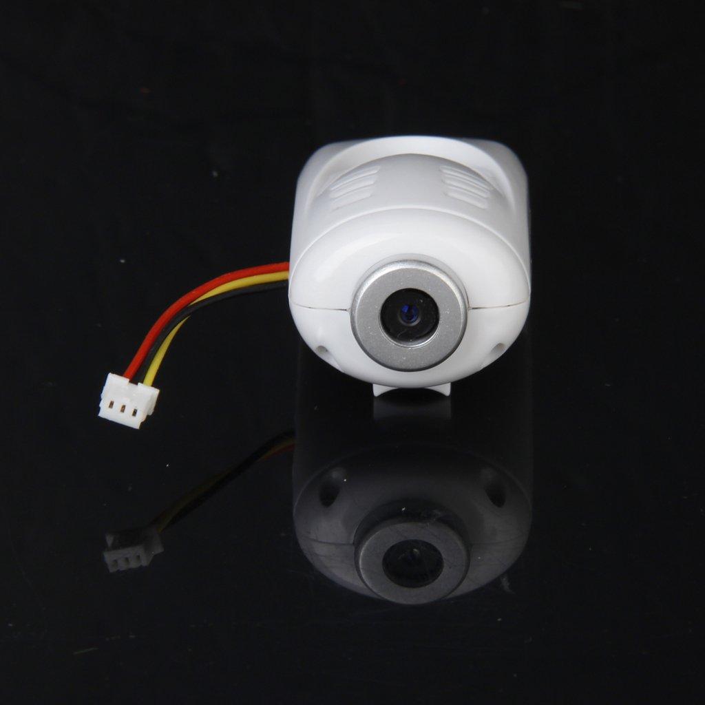 Radio Control Helic/óptero 2.0MP C/ámara Para Syma X5C Repuesto Accesorio Blanco