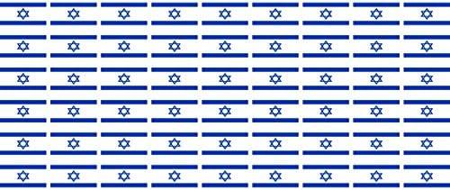 Mini Aufkleber Set Pack Glatt 20x12mm Sticker Fahne Israel Flagge Banner Standarte Fürs Auto Büro Zu Hause Und Die Schule 54 Stück Bürobedarf Schreibwaren