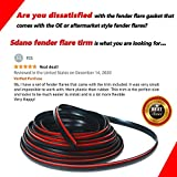 Fender Flares Edge Trim, Fender Flare Rubber Seal