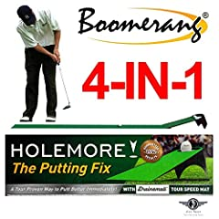 Congrats! You made it, you're here!!! That's great news! Because 'here' is where you learn the skills necessary to roll a golf ball very precisely. If you don't lag close and hole enough scoring putts now, do something about it! HOLEMORE was ...