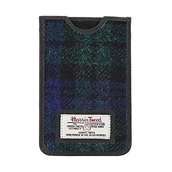Handys & Kommunikation Harris Tweed Iphone Case Grey/black Herringbone Pattern New