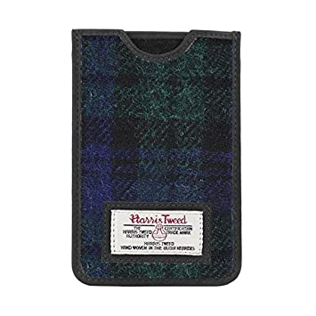 Herren-accessoires Taschen & Schutzhüllen Harris Tweed Iphone Case Grey/black Herringbone Pattern New