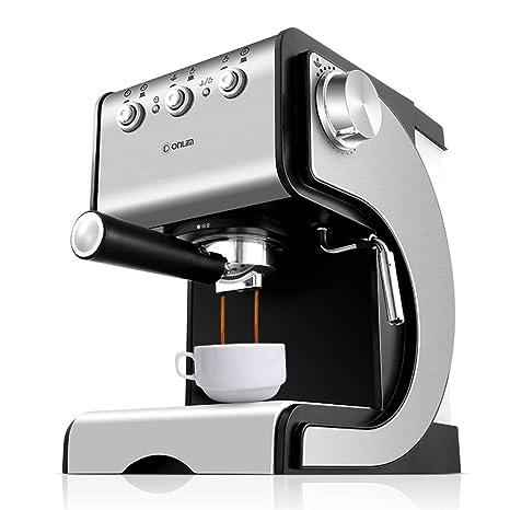 Máquina De Café Espresso Semiautomática Casera, Protección Automática De Control De Temperatura, Extracción De