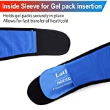 LotFancy Gel Ice Pack with Wrap, Reusable Hot