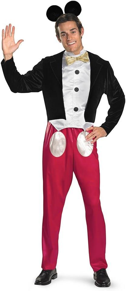 Disfraz 199921 Disney Mickey Mouse traje adulto - Negro - Extra ...