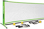 Pro Focus Pickleball Paddle - 1 Player Fiberglass Honeycomb Pickleball Paddle; Outdoor and Indoor Fun for Kids