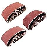 Sackorange 24 PCS 4 inch x 24 inch Sanding Belts
