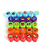 Kesoto 26 Pieces Assorted Self-Inking Stamps Set for Kids of Pirates Sea Ocean Animal Nautical Stamps - Party Favor, Teacher Stamps