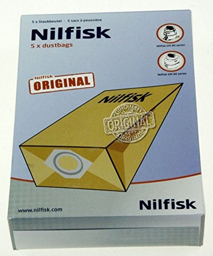 Bolsas para aspiradora ORIGINAL Nilfisk GM80 GM90, Series: Amazon ...