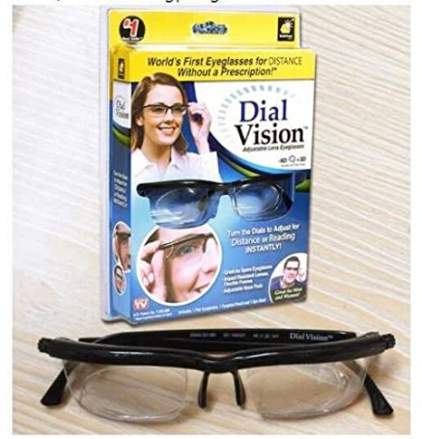 3779e863cb Image Unavailable. Image not available for. Color  tongrou Adjustable  Glasses hot Adjustable Dial Eye ...