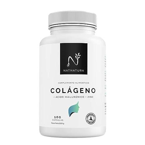 Colágeno hidrolizado. Colágeno con ácido hialurónico + Vitamina C ...