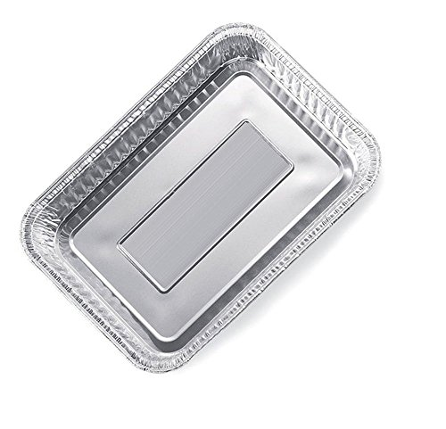 Pack of 20 Watson Lee Small 7-1/2-Inch-by-5-inch Aluminum Drip Pans (Outdoor Grill Pans Small compare prices)