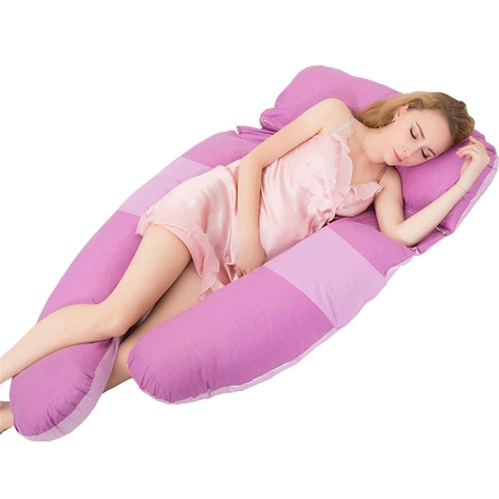 出産祝い SHYPwM 妊娠中の女性の枕多機能ウエストサイドスリーピングピローU字型睡眠枕妊娠中の女性のサイドスリーピングクリップレッグクッション (色 : ピンク) 紫の : B07R8P8GTT 紫の ピンク) 紫の, ブランカスタ:a847dd00 --- magixcomp.com.br