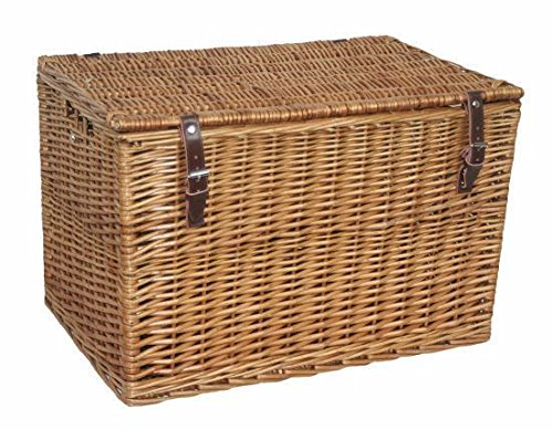 60cm Double Steamed Chest Picnic Basket by Red Hamper
