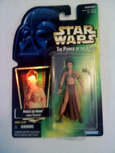 [Star Wars the Power of the Force - Princess Leia Organa as Jabba's Prisoner Action Figure] (Star Wars Princess Leia Slave)