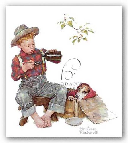 Buy norman rockwell prints dog