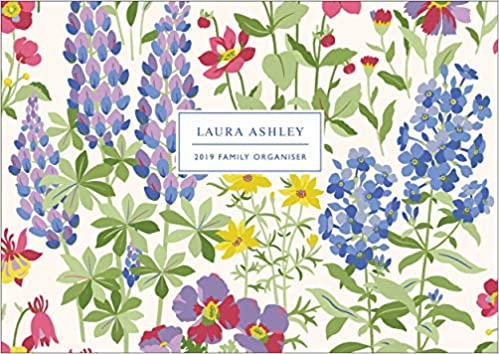 Laura Ashley A4 Family Organiser 2019 Amazon Fr Livres
