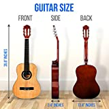 "Pyle 36"" Classical Acoustic Guitar-3/4 Junior"