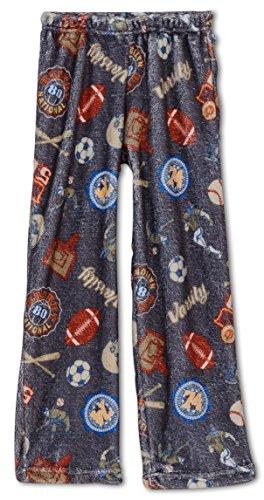 Pants Fleece Boys Pajama (Up Past 8 Big Boys' Sport Pajama Pant, Kids Size M(8))