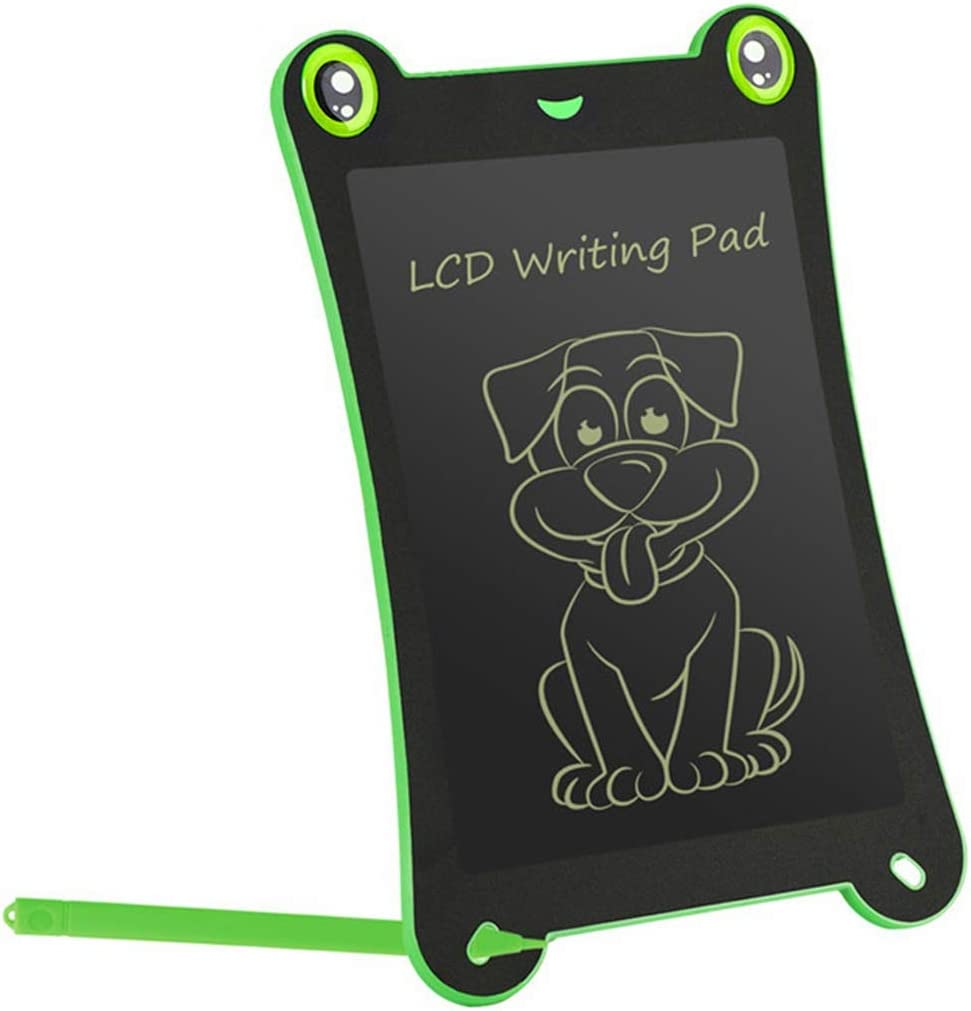 Color : Green, Size : 8.5 inches LCD Writing Tablet 3 Pcs LCD Tablet Childrens Drawing Board Graffiti Board Light Energy Writing Board Drawing Tablet for Kids