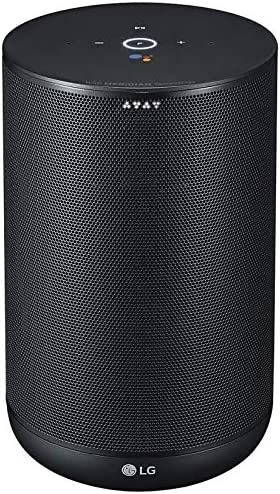 LG ThinQ Wireless Bluetooth Smart Speaker with Google Voice Assistant -  Black