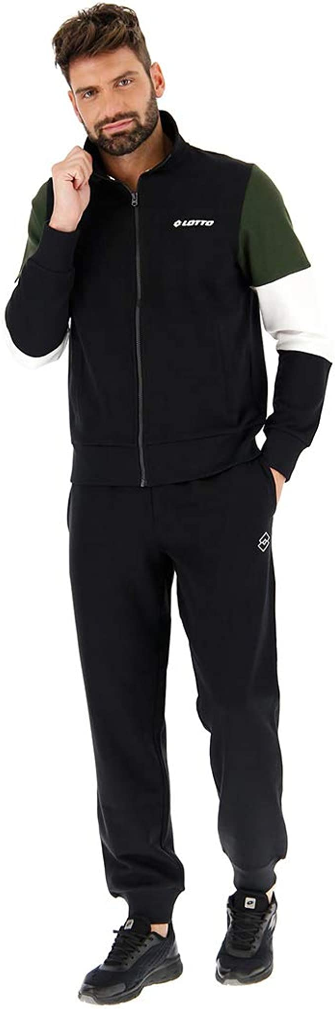 Lotto Suit Dual BS - Chándal para Hombre Negro XXL: Amazon.es ...