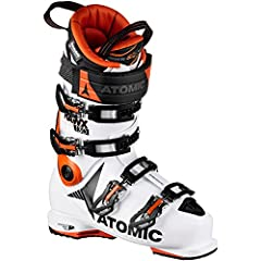 Lightweight construction materials aren't just for touring boots anymore. Enter the Atomic Hawx Ultra 130 Ski Boots, built for unparalleled all mountain performance without weighing you down. Atomic engineers call it Progressive Fit. Using a ...