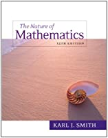 Nature of Mathematics, 12th Edition Front Cover