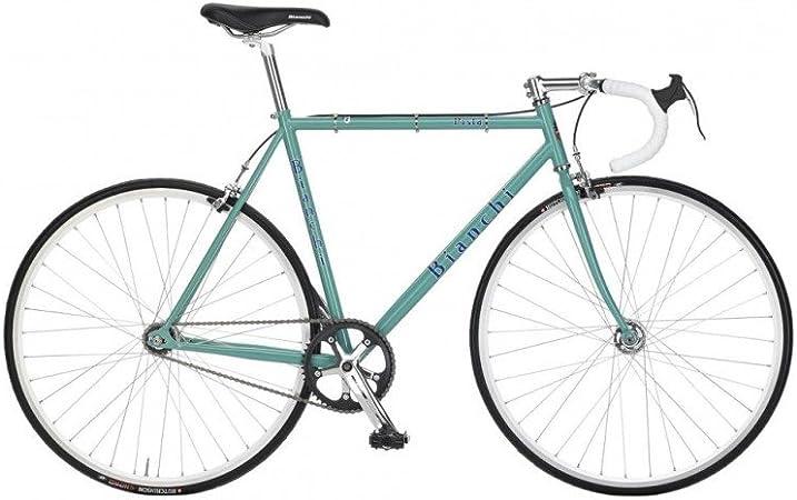 Bianchi Pista Steel D2 CK=Celeste Gloss Ever, 53: Amazon.es ...