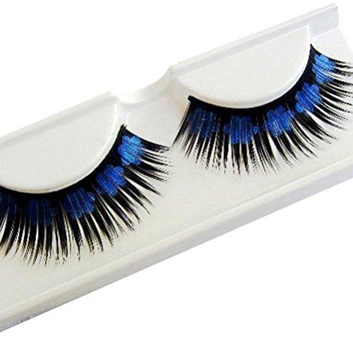 False Eyelashes, UMFun Women Halloween Stage Party Makeup Artistic Plum blossom False Eyelashes (c) -