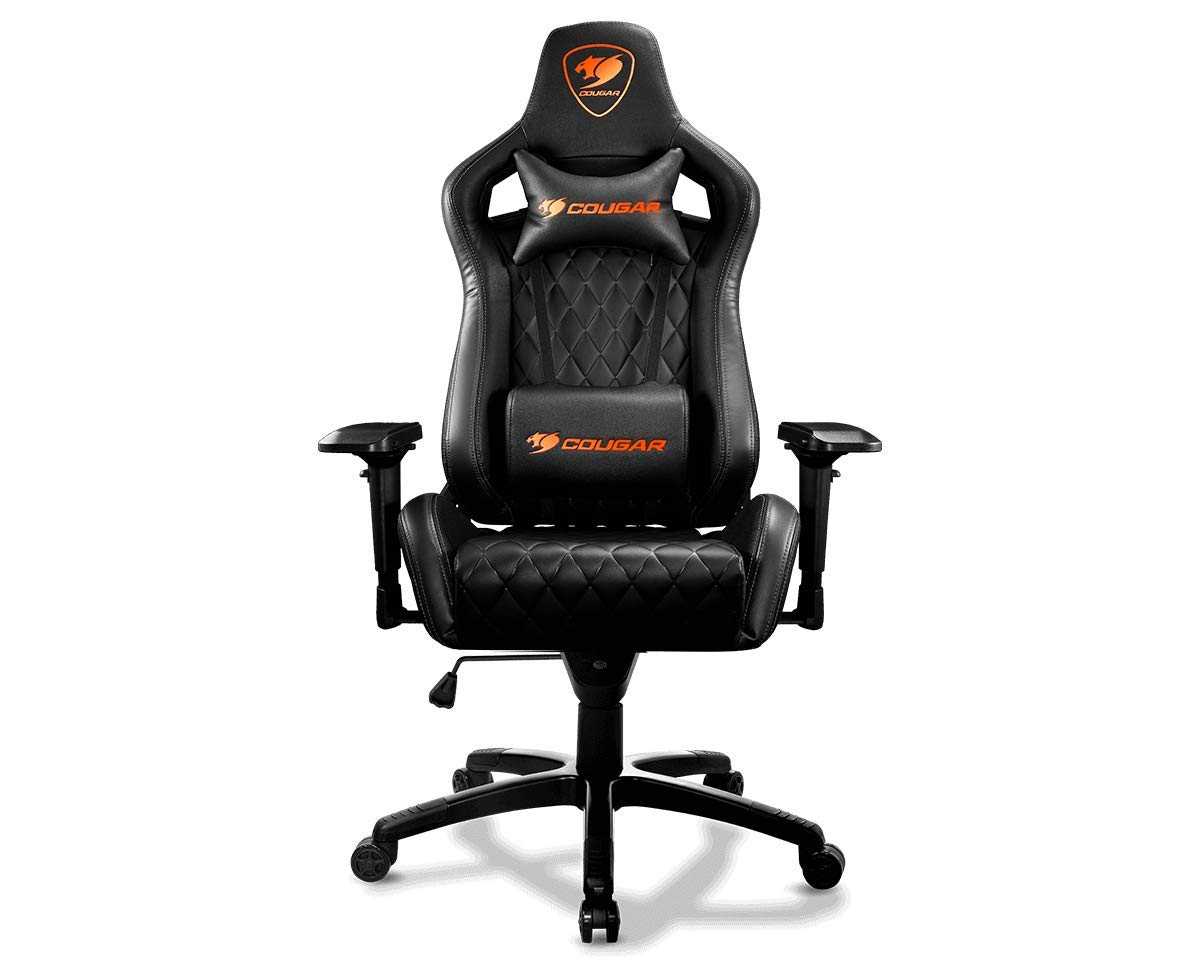 COUGAR Armor-S Luxury Gaming Chair (Black), 1 by COUGAR