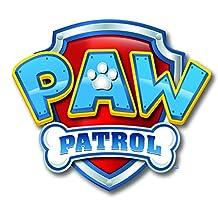 PAW PATROL Logo Edible Image Photo Cake Topper Sheet Birthday Party - 1/4 Sheet Topper - 14504