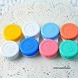 Plastic Contact Lens Mini CaseTravel Kit Easy Carry Case Storage Container