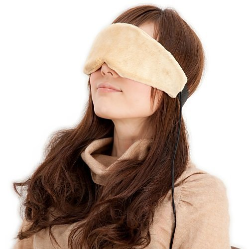 Price comparison product image USB hot steam eye mask (can be used as a portable) with temperature control by Broadwatch