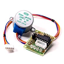 Puuli 4 Phase 5-wire 25 CM Reduction Step Motor Mini Step Motor 28BYJ-48 DC 5V Gear Stepper Motor With ULN2003 Driver Board