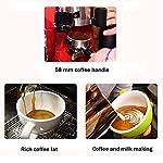 He-art-Macchina-per-caff-Espresso-di-Grande-Formato-di-Colore-Rosso-Brewer-Mocha-Macchina-per-caff-Espresso-per-Cappuccino-Commerciale-con-Display-per-Bottoni-di-LatteBlack