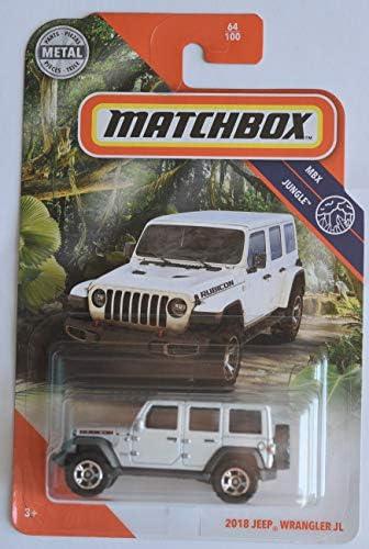 Matchbox 2018 Jeep Wrangler JL [Rubicon] 64/100, Pearl White