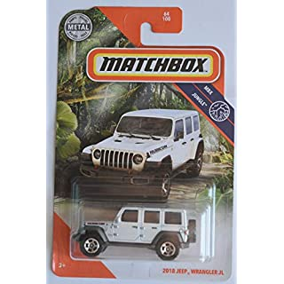 Matchbox 2018 Jeep Wrangler JL [Rubicon] 64/100, Pearl White