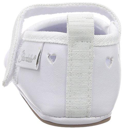 Sterntaler Baby-ballerina - Zapatillas de casa Bebé-Niños Blanco - Weiß (weiß 500)