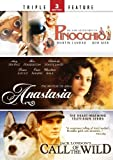 The New Adventures of Pinocchio/ The Mystery of Anna Anastasia/ Call of the Wild