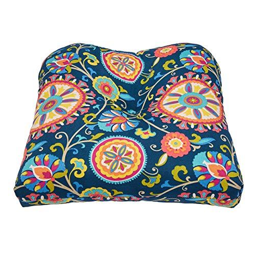 Wicker Chair Cushion - BrylaneHome Tufted Wicker Chair Cushion - Granada
