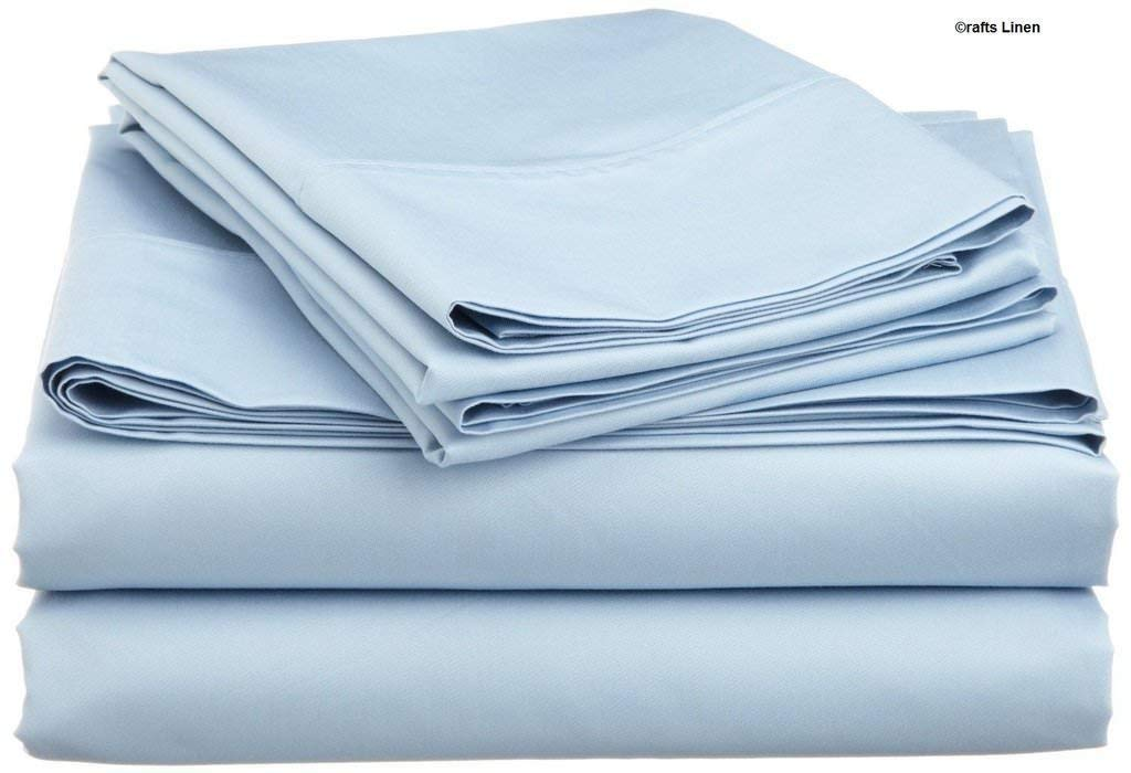 Elephant Grey 100/% Cotton 4-Piece Bed Sheet Set Cotton 400 TC Comes with 15 inches deep Pocket Fitted Sheet Ultra Soft DreamLinen Twin XL Luxury Sheets Solid Dream Linen AS-2018