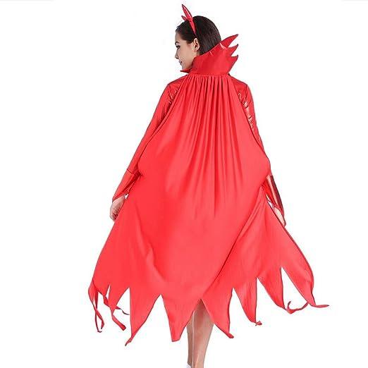 Amazon.com: Forthery Traje de diablo rojo para mujer, talla ...